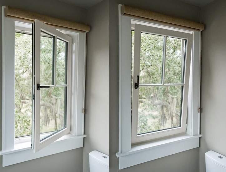 این مدل از پنجرههای یو پی وی سی بر خلاف پنجرههای تک حالته است. در این نوع از پنجره ها، امکان باز شدن به دو حالت وجود دارد.