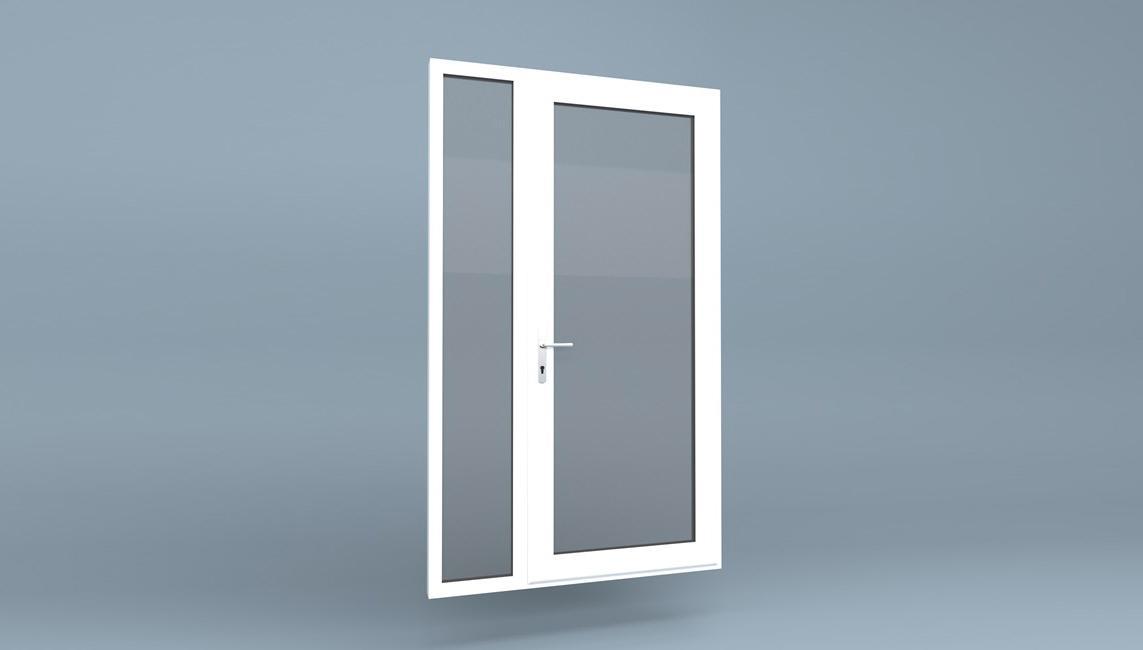 آموزش قفل کردن و باز کردن درب دوجداره