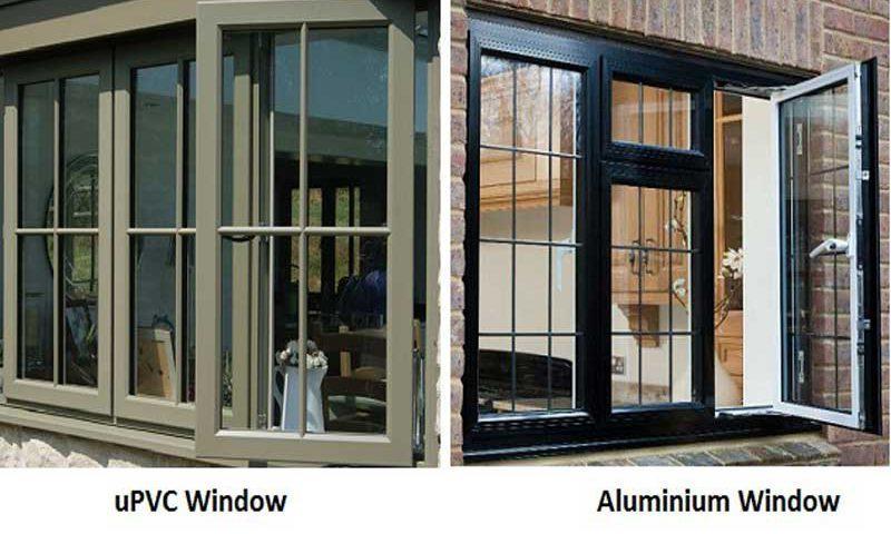 مقایسه درب و پنجره دوجداره UPVC و آلومینیوم